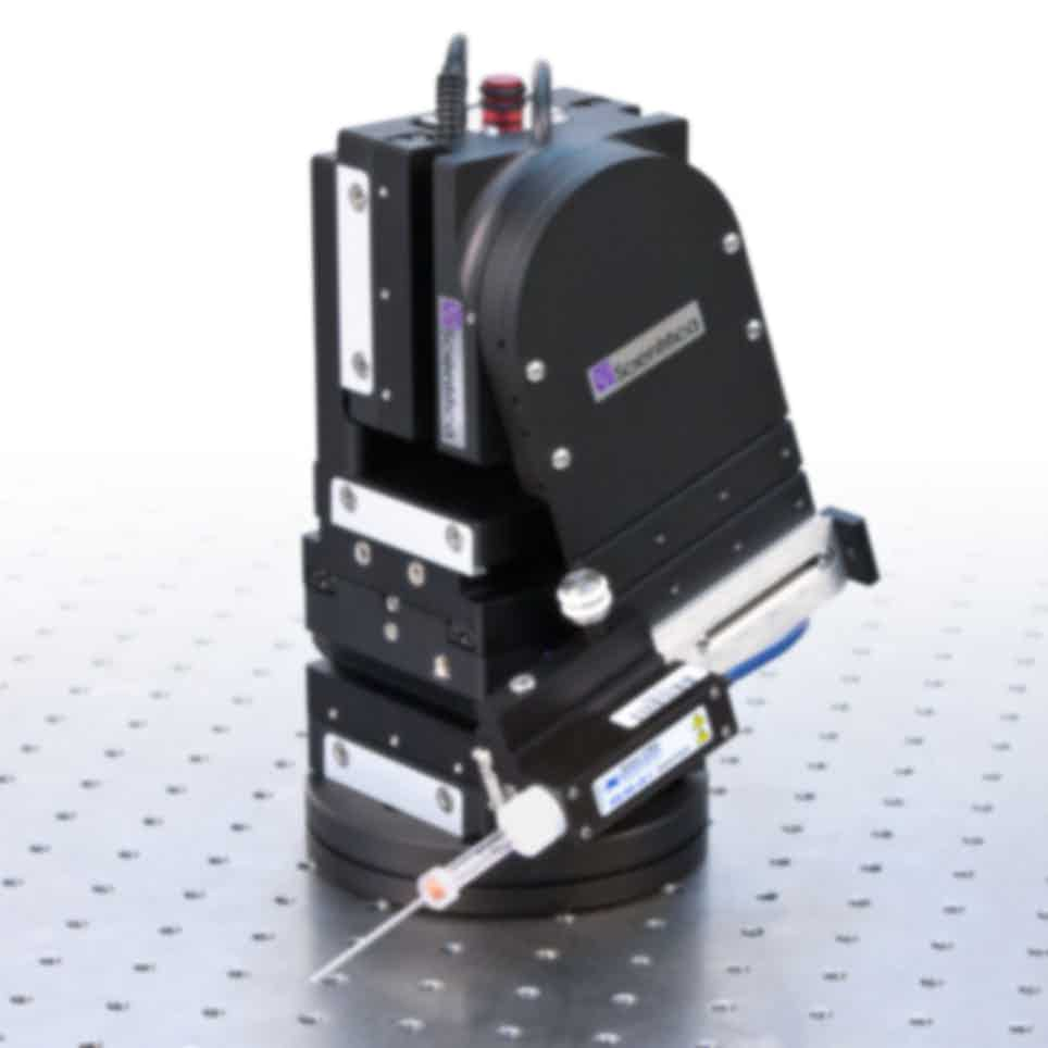 Scientifica PatchStar Micromanipulator with Control Cube